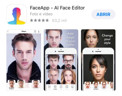 ☠️ FaceApp, fenômeno das redes sociais está recolhendo os SEUS dados
