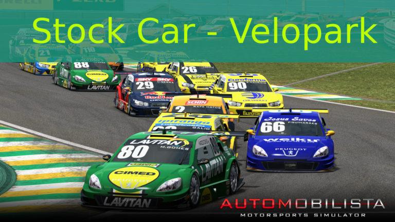 🏁 Stock Car: Uma volta no Velopark