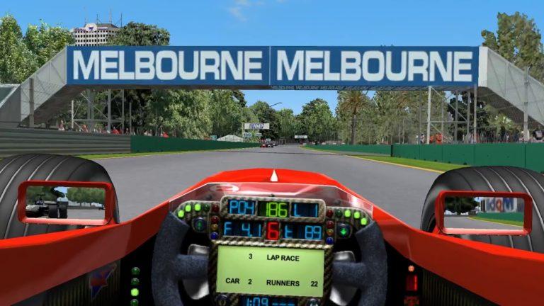 🎮 Série GP 4 – Corrida em Melbourne – #1