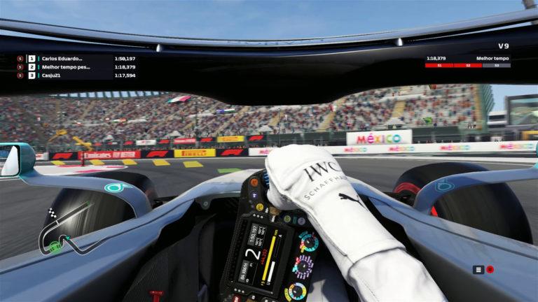 🏁 Fórmula 1 – Volta no Autódromo Hermanos Rodríguez – GP do México