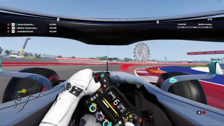 🏁 Fórmula 1 – Volta no Circuito das Américas – GP dos Estados Unidos