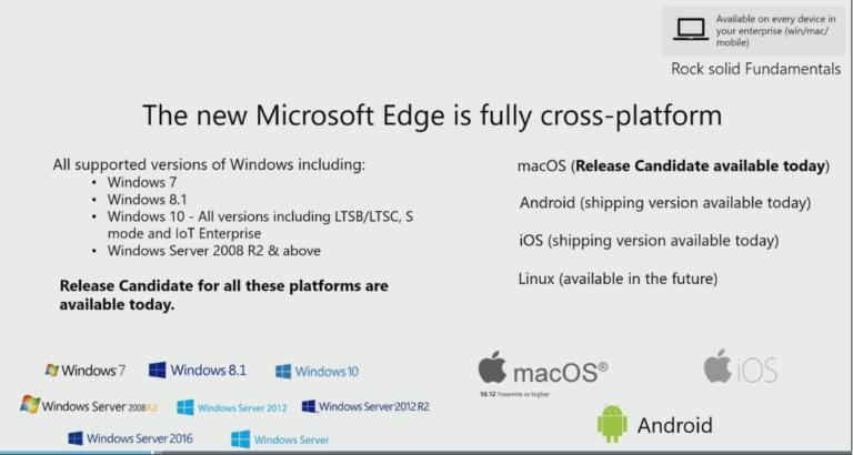 🐧 Microsoft Edge também será lançado para Linux