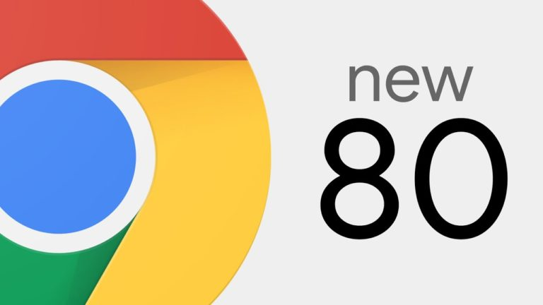 🩹 Google Chrome 80 é lançado para Android, Linux, MacOS e Windows