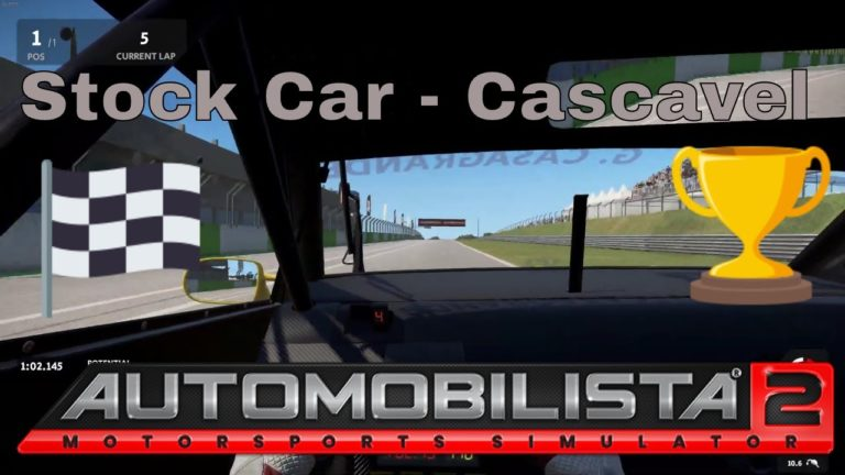 🔴 Automobilista 2 – Volta em Cascavel no Stock Car!!!