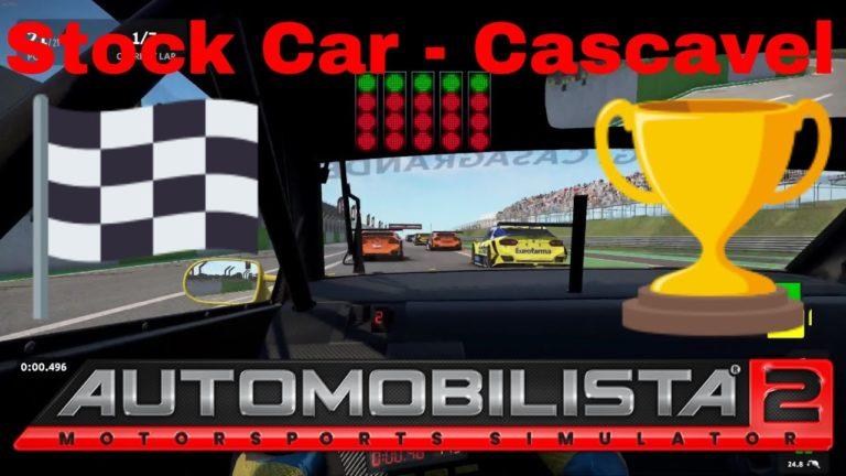 🔴 Automobilista 2 – Stock Car – Corrida em Cascavel