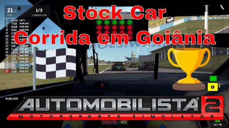 🔴 Automobilista 2 – Stock Car – Corrida em Goiânia