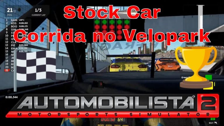 🔴 Automobilista 2 – Stock Car – Corrida no Velopark