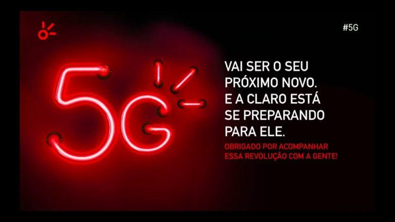 📱 Claro prepara lançamento do 5G no Brasil