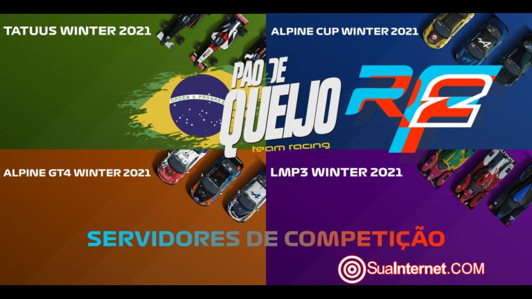 🔴 🏁 LIVE – rFactor 2 – Servidores de Competição – 23/01/2021